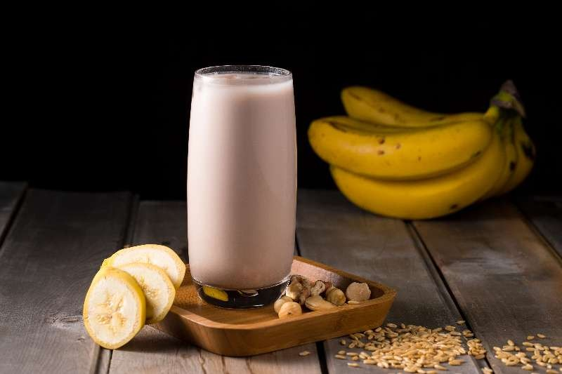 香蕉燕麥堅果奶