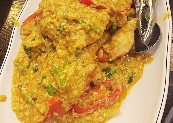 泰式咖喱炒蟹 / 波羅炒飯 (廚泰餐廳)