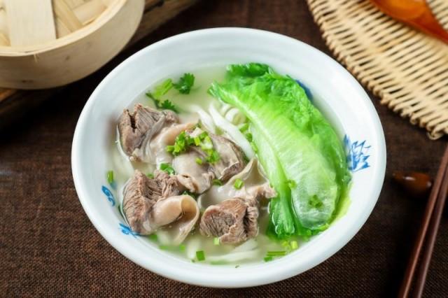 藥膳崩沙刀切麺/酸菜排骨蒸飯/蟹子燒賣皇(良品美食)