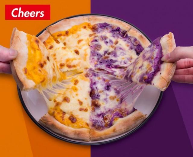 紫薯芝士薄餅 / 燒豬肋骨 (Cheers Pub)
