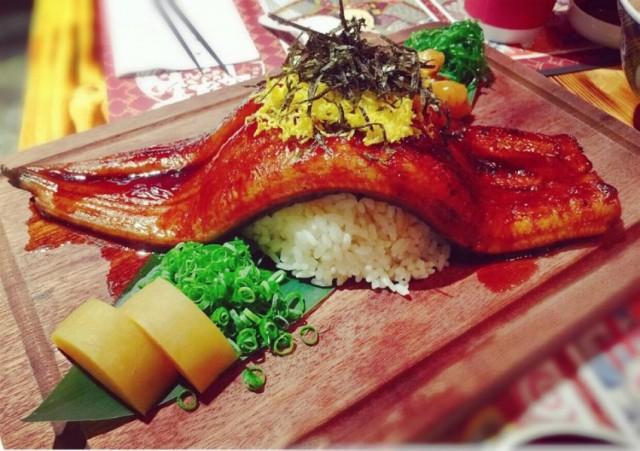 一本火燒鰻魚丼 (築鳥 Tsutori)